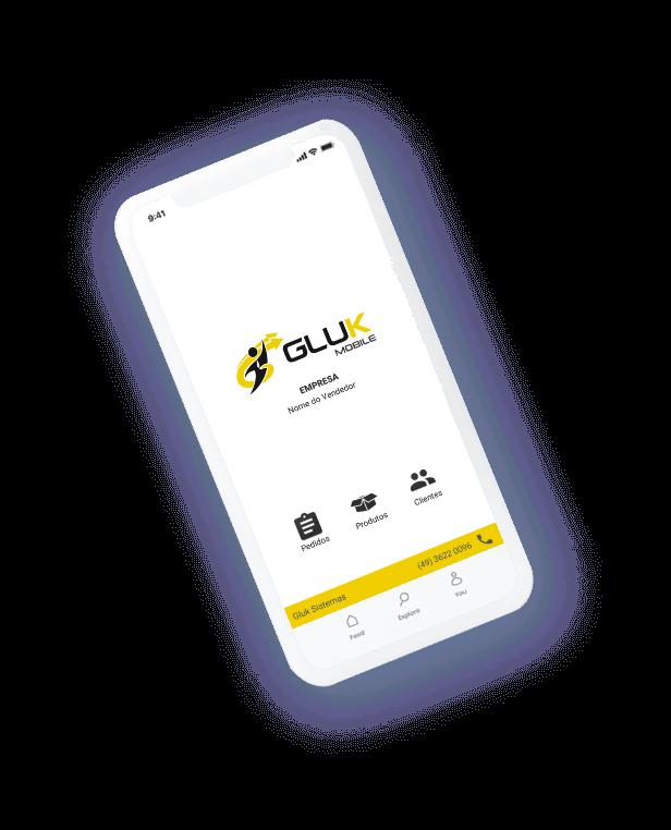 Aplicativo para vendedores - Gluk Mobile